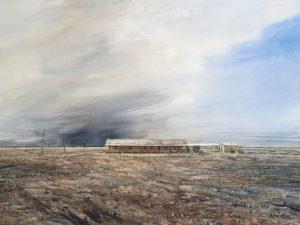 'Hope' 2015 watercolour 75x55cm by Christine Porter