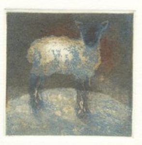 'Lamb' 2008 multiplate colour etching. some avalability