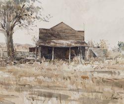 shop-old-texas-2011-watercolour-23x22cm-christine-porter