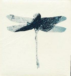 'Dragonfly' 2010 etching 6x6.6cm