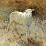 lamb-2012-watercolour-and-body-colour-14x15cm-christine-porter