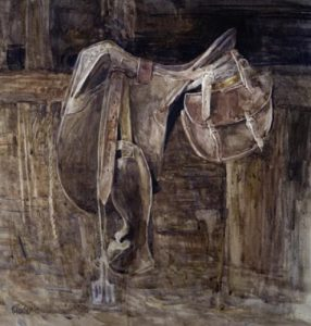 saddle-2011-giclee-print-on-paper-55x51cm-by-christine-porter