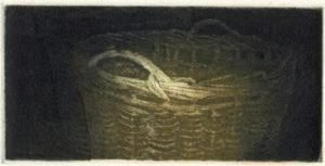 woolbasket-2004multi-plate-colour-etching-12x6cm-christine-porter