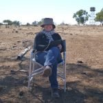 CPorter artist in the field 2015