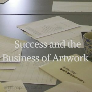 _Success and the Business of Artwork_ Art-Business Professional Development workshop for artists by Art-Professional Christine Porter
