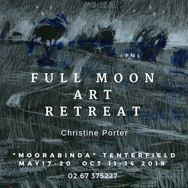 Full-Moon-Art-Retreat-weekend-art-workshop-with-ChristinePorter-on-a-sheep-station-near-Tenterfield.-Learn-to-paintrelax-and-enjoy-this-beautiful-place