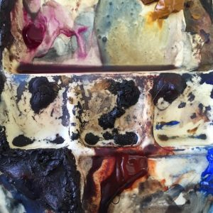 A blog post about Christine's opinion about the fear of creating muddy colours in watercolour, and some solutions.